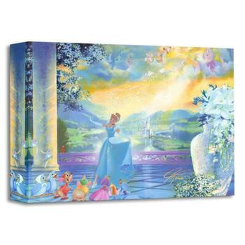 """""""The Life She Dreams Of"""" Limited edition gallery wrapped canvas by John Rowe from the Disney Treasures collection."""