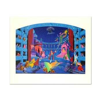 """Melanie Taylor Kent, """"Mozart"""" Limited Edition Serigraph, Numbered and Hand Signed with Letter of Authenticity"""