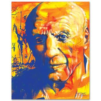 """Stephen Fishwick, """"Picasso"""" LIMITED ED Giclee on Canvas, Numbered and Signed."""