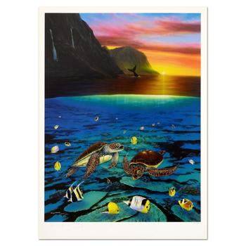 """Wyland, """"Ancient Mariner"""" Limited Edition Lithograph, Numbered and Hand Signed with Certificate of Authenticity."""