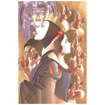 """Alex Ross, """"Once There Was a Princess"""" Limited Edition Giclee on Canvas from Disney Fine Art. Hand Signed and with COA"""