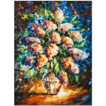 """Leonid Afremov (1955-2019) """"A Thoughtful Gift"""" Limited Edition Giclee on Gallery Wrapped Canvas, Numbered and Signed."""