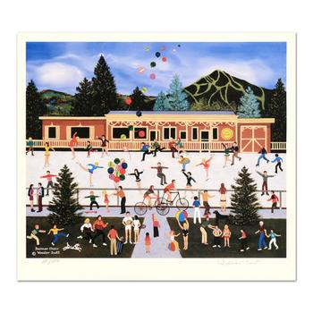 """Jane Wooster Scott, """"Summer Cheer"""" Hand Signed Limited Edition Lithograph with Letter of Authenticity."""