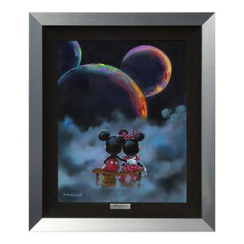 """The Planets Aligned"" Framed Limited Edition Canvas by Jim Warren from the Disney Fine Art Silver Series; with COA."