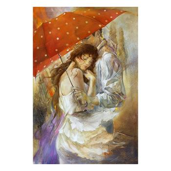 "Lena Sotskova, ""Cherish"" Artist Embellished Limited Edition Giclee on Canvas with COA."