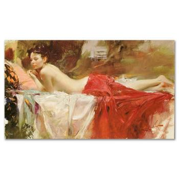 """Pino (1939-2010) """"Love Notes"""" Limited Edition Artist-Embellished Canvas, Hand Signed."""