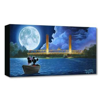 """Jared Franco """"Drifting in the Moonlight"""" Limited Edition Gallery Wrapped Canvas from Disney Fine Art Treasures collection; COA."""