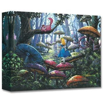 """""""A Smile You Can Trust"""" Limited edition gallery wrapped canvas by Rodel Gonzalez from the Disney Treasures collection, COA."""