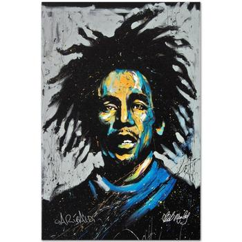 """David Garibaldi, """"Bob Marley (Redemption)"""" LIMITED EDITION Giclee on Canvas, Numbered and Signed."""