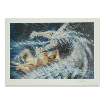 """Michael R. Whipple, """"Chaperon"""" Limited Edition Lithograph, Numbered Hand Signed with Letter of Authenticity"""