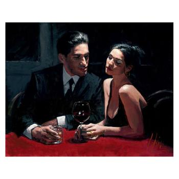 "Fabian Perez ""El Verso II"" Hand Embellished Limited Edition Canvas; Hand Signed, with COA."