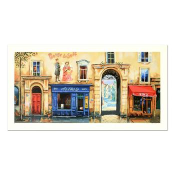 "Alexander Borewko, ""Bar Astrid"" Limited Edition Serigraph, Numbered and Hand Signed with Letter of Authenticity."