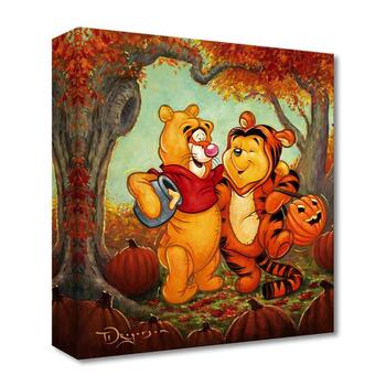 """Tim Rogerson, """"Friendship Masquerade"""" Limited Edition Canvas from the Disney Fine Art Treasures collection; COA."""