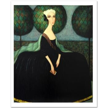 "Sergey Smirnov (1953-2006), ""Catherine The Great"" Ltd Ed Mixed Media on Canvas (32"" x 40""), No. & Hand Signed w/Cert."