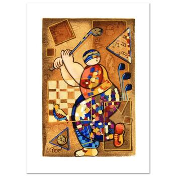 """Dorit Levi, """"Strike a Note"""" Limited Edition Serigraph, Numbered and Hand Signed with Certificate of Authenticity."""