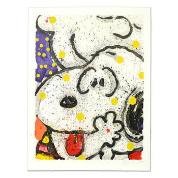 """Tom Everhart, """"My Main Squeeze"""" Limited Edition Hand Pulled Original Lithograph Numbered and Hand Signed with LOA."""