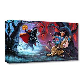 """Tim Rogerson, """"The Witching Hour"""" Limited Edition Canvas from the Disney Fine Art Treasures collection; COA."""