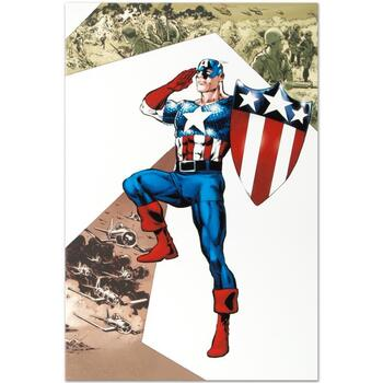 "Marvel Comics ""Captain America Corps #2"" Numbered Limited Edition Canvas by Phil Jimenez; Includes COA."