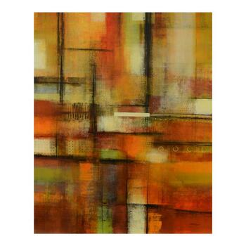 """Joel David Holsinger, """"Sintesi"""" Original Mixed Media Painting on Canvas, Hand Signed with Letter of Authenticity."""
