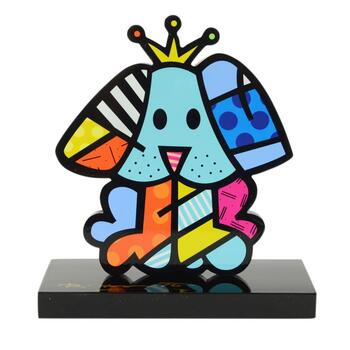"""Romero Britto""""Royalty"""" Hand Signed Limited Edition Sculpture; Authenticated."""