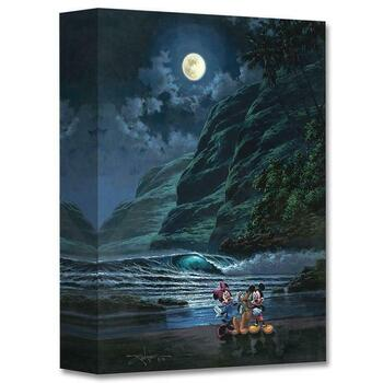 """Moonlit Portrait"" Limited edition gallery wrapped canvas by Rodel Gonzalez from the Disney Treasures collection."