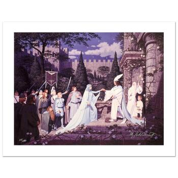 "Brothers Hildebrandt, ""The Wedding Of The King"" Ltd Ed Giclee on Canvas, Numbered and Hand Signed with Cert."