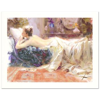 "Pino (1939-2010) ""Mystic Dreams"" Limited Edition Giclee. Numbered and Hand Signed; Certificate of Authenticity."