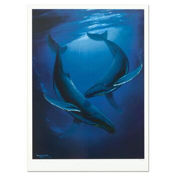"Wyland, ""Song of the Deep"" Limited Edition Lithograph, Numbered and Hand Signed with Certificate of Authenticity."