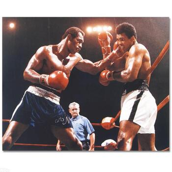 Muhammad Ali and Ken Norton. Licensed Photograph of the Heavyweight Champ.