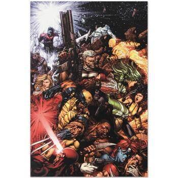 "Marvel Comics ""X-Men #207 (Messiah CompleX)"" Numbered Limited Edition Canvas by Chris Bachalo; Includes COA."