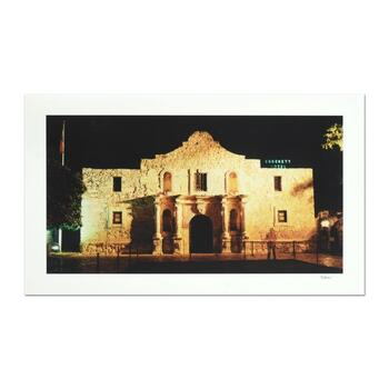 """Robert Sheer, """"Davy Crockett at the Alamo"""" Limited Edition Single Exposure Photograph, Numbered and Hand Signed with Certificate"""