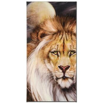"""""""Leo Moon"""" Limited Edition Giclee on Gallery Wrapped Canvas by Martin Katon, Numbered and Hand Signed."""