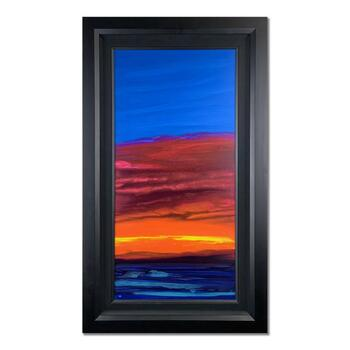 """Wyland, """"Ocean One"""" Hand Signed Original Painting on Canvas with Certificate of Authenticity."""