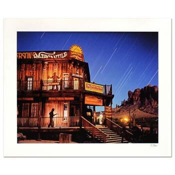 "Robert Sheer, ""Goldfield Ghost Town Spirits"" Limited Edition Single Exposure Photograph, Numbered and Hand Signed with COA"