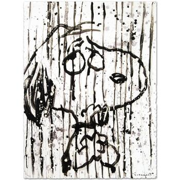 "Tom Everhart, ""Dancing in the Rain"" Limited Edition Hand Pulled Original Lithograph Numbered and Hand Signed with LOA."