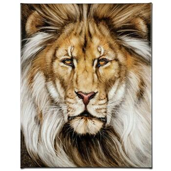 "Martin Katon, ""Kinglike"" Ltd Ed Giclee on Gallery Wrapped Canvas, Numbered and Hand Signed."
