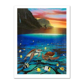"""Wyland, """"Ancient Mariner"""" Ltd Ed Giclee on Canvas (30"""" x 40""""), Numbered and Hand Signed with Certificate."""