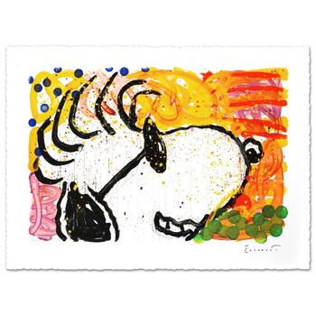 """Tom Everhart, """"Pop Star"""" Limited Edition Hand Pulled Original Lithograph Numbered 399/500 and Hand Signed with LOA."""
