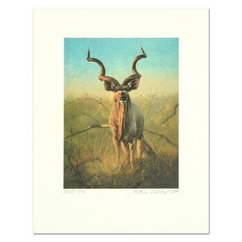 "Peter Darro (1917-1997), ""Pronghorns"" Limited Edition Lithograph, Numbered and Hand Signed with Letter of Authenticity."