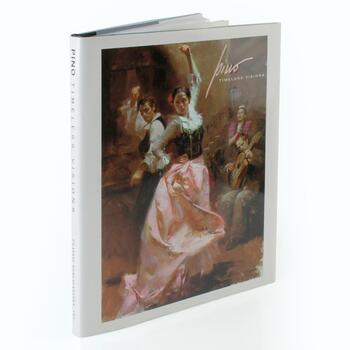 """Pino: Timeless Visions""(2007) Fine Art Book with Text by Vicky Stavig and Introduction by Patricia Jobe Pierce, 128 Pages."