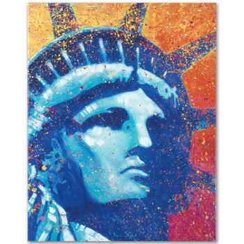 "Stephen Fishwick, ""Liberty"" LIMITED ED Giclee on Canvas, Numbered and Signed."