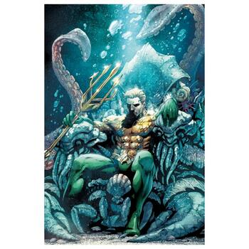 """DC Comics, """"Aquaman #18"""" Numbered Limited Edition Giclee on Canvas by Paul Pelletier with COA."""