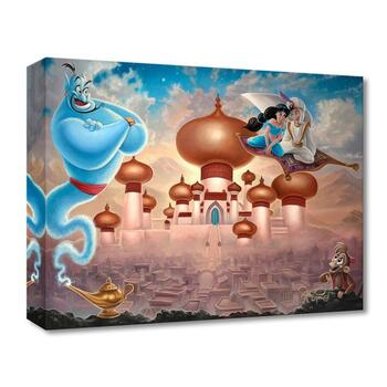 """Jared Franco, """"A Whole New World"""" Limited Edition Canvas from the Disney Fine Art Treasures collection; COA."""