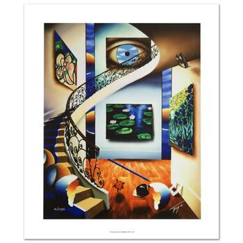 """Ferjo, """"Eye of a Master"""" Limited Edition Giclee on Canvas, Numbered and Hand Signed with Certificate."""