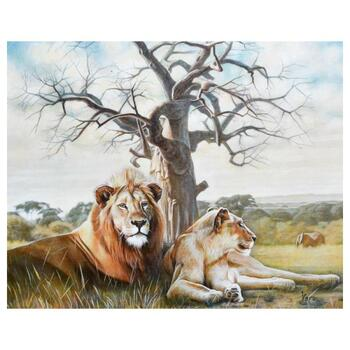 """Vera V. Goncharenko, """"Pride"""" Hand Signed Limited Edition Giclee with Letter of Authenticity."""