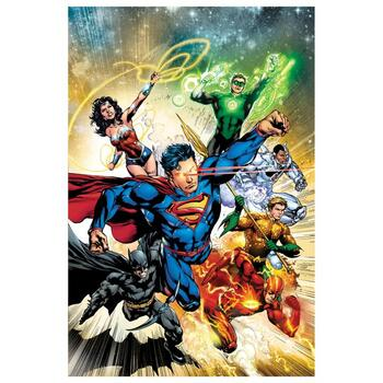 """DC Comics, """"Justice League #2"""" Numbered Limited Edition Giclee on Canvas by Ivan Reis with COA."""