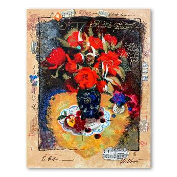 Alexander and Wissotzky, Hand Signed Limited Edition Serigraph on Paper with Letter of Authenticity.