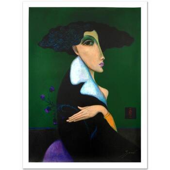 "Sergey Smirnov (1953-2006), ""Anna Pavlova"" Ltd Ed Mixed Media on Canvas (30"" x 40""), Numbered and Hand Signed w/Cert."