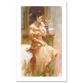"""Pino (1939-2010) """"Silk Taffeta"""" Limited Edition Giclee. Numbered and Hand Signed; Certificate of Authenticity."""
