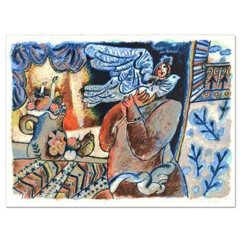 """Theo Tobiasse (1927-2012), """"Des Fruits por Bathsabee"""" Ltd Ed Lithograph, Numbered 3/200 and Hand Signed with LOA. $2,950"""